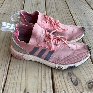 Adidas NMD Racer PK W Primknit Pink Athletic Shoes